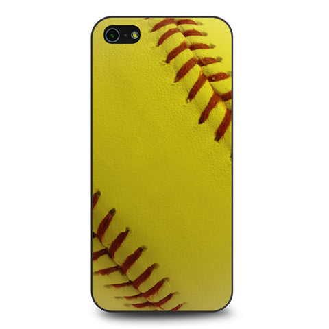 Ball Baseball Yelow iPhone 5 5s SE case