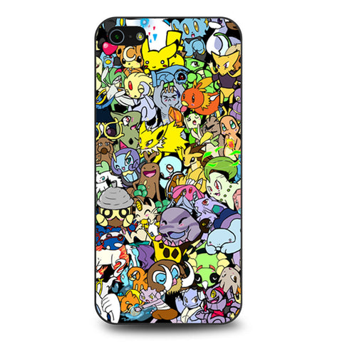 Adorable Pokemon Character iPhone 5 5s SE case