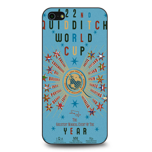 422nd Quidditch World Cup Poster iPhone 5 5s SE case