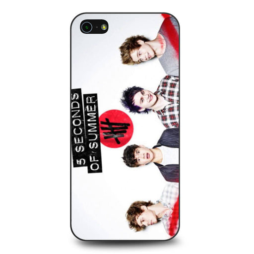 5 Seconds of Summer 5SOS Band iPhone 5 5s SE case