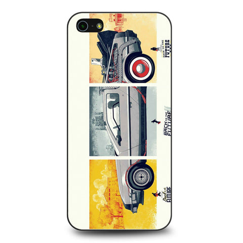 Back To The Future DeLorean DMC 12 iPhone 5 5s SE case