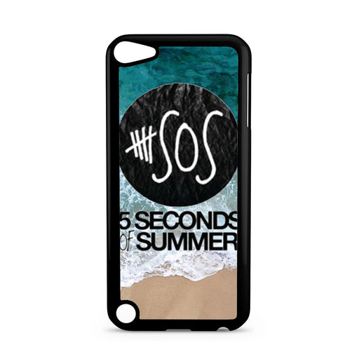 5 Seconds of Summer Band The Beach iPod Touch 5 case