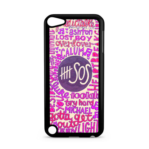 5 Seconds Of Summer Collage 2 iPod Touch 5 case