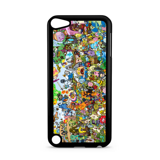 Adventure Time All Characters iPod Touch 5 case