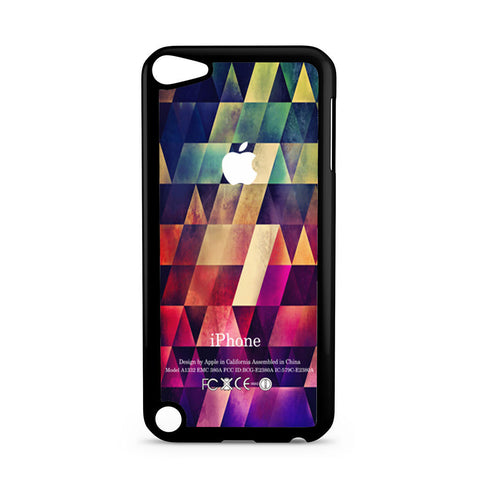 Abstract Apple Geometric iPod Touch 5 case