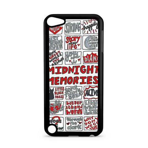 1D Midnight Memories Collage iPod Touch 5 case