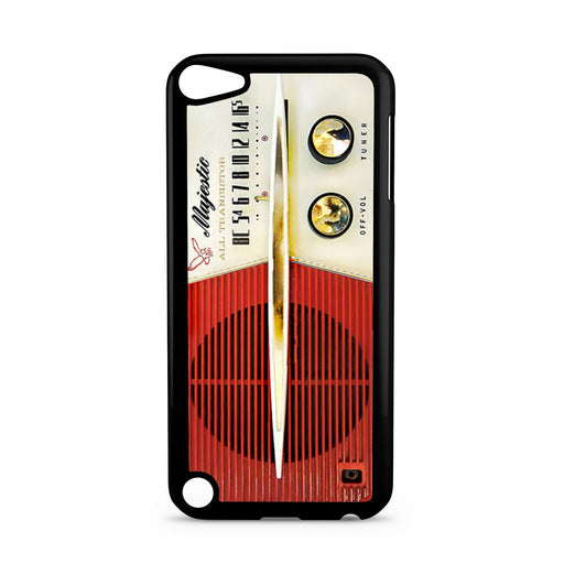 Classic Vintage Old Retro Majestic Radio iPod Touch 5 case