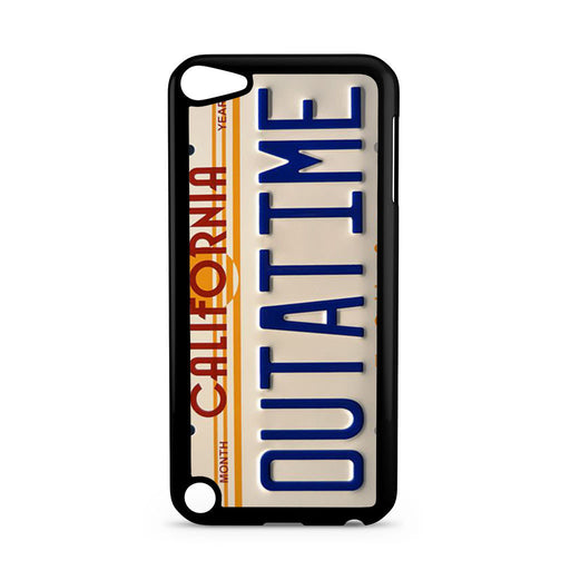 Back To The Future Delorean License Plate iPod Touch 5 case