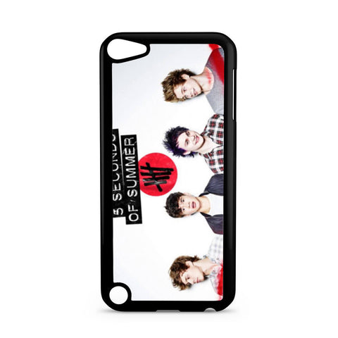5 Seconds of Summer 5SOS Band iPod Touch 5 case