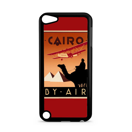 Cairo Egypt Vintage Travel Poster iPod Touch 5 case