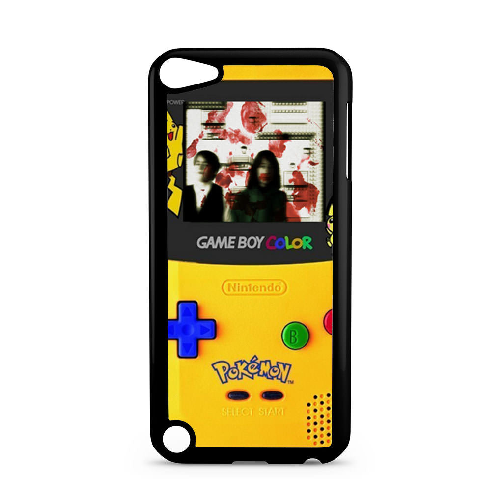 Gameboy color pokemon ipod touch 5 5th gen case case for Housse ipod touch 5