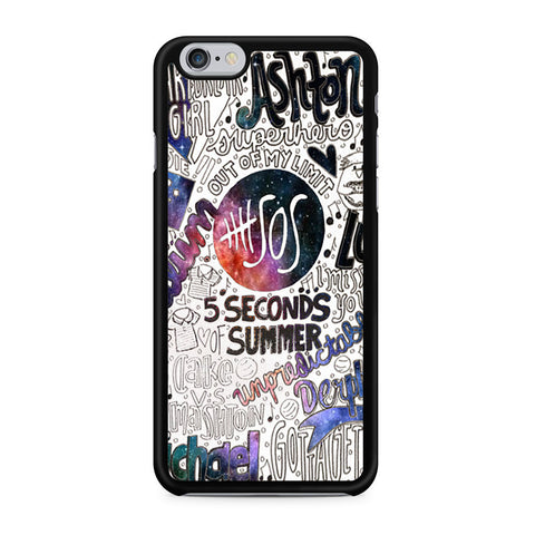5 Seconds Of Summer Collage iPhone 6 6s case