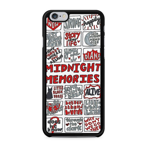 1D Midnight Memories Collage iPhone 6 6s case