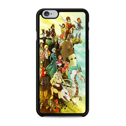 Studio Ghibli Characters iPhone 6 6s case
