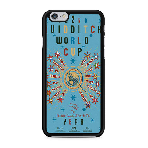 422nd Quidditch World Cup Poster iPhone 6 6s case