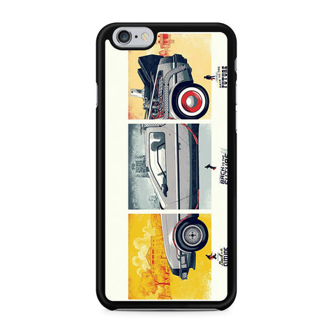 Back To The Future DeLorean DMC 12 iPhone 6 6s case