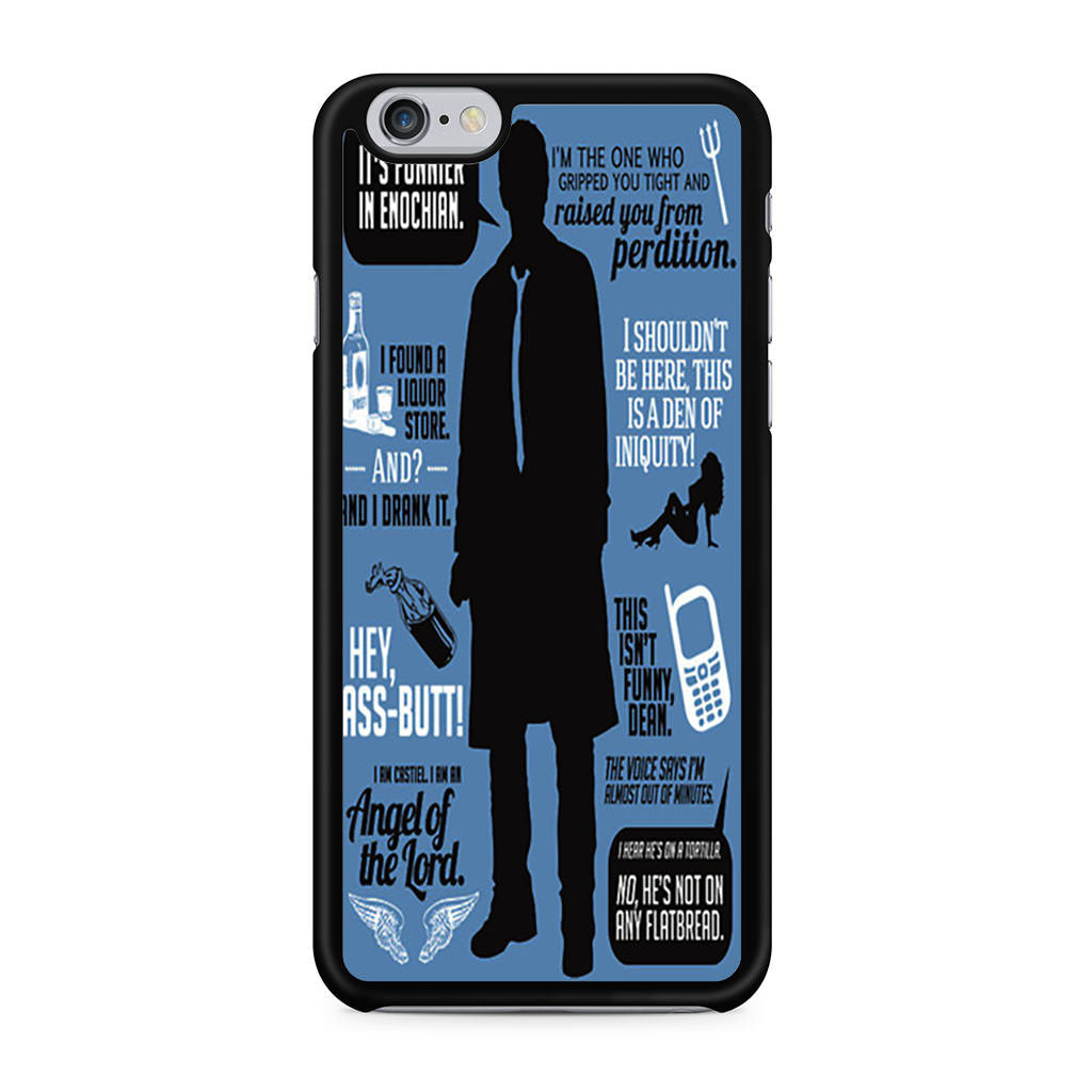 Supernatural Quote Wording Art 2 iPhone 6 6s case
