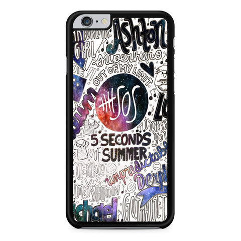 5 Seconds Of Summer Collage iPhone 6 Plus 6s Plus case