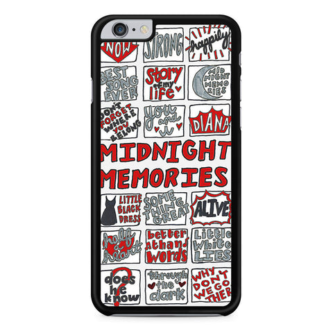 1D Midnight Memories Collage iPhone 6 Plus 6s Plus case