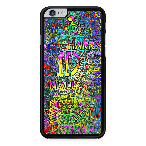 1D One Direction Lyrics iPhone 6 Plus 6s Plus case