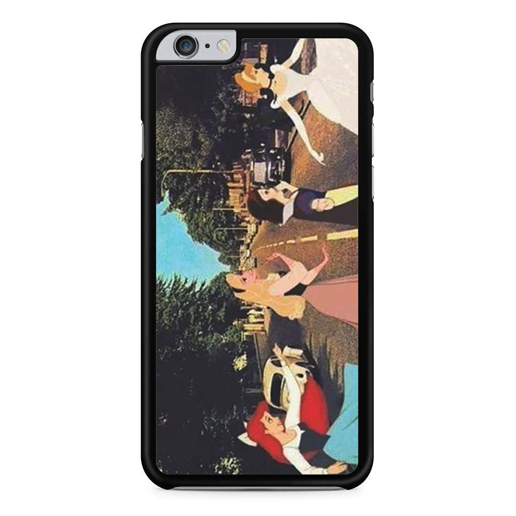 Disney Princess Abbey Road iPhone 6 Plus 6s Plus case