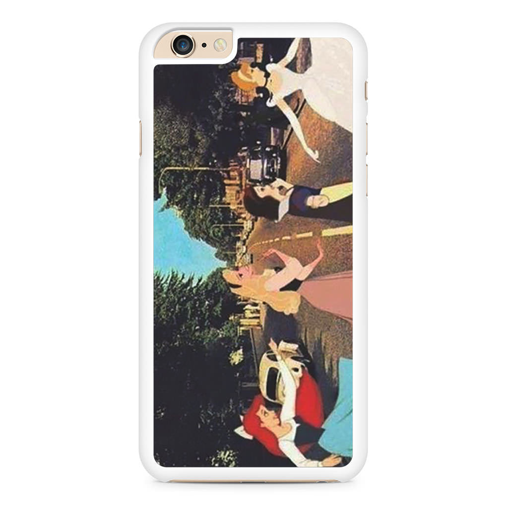 Disney Princess Abbey Road iPhone 6 Plus / 6s Plus case