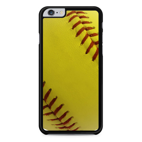 Ball Baseball Yelow iPhone 6 Plus 6s Plus case