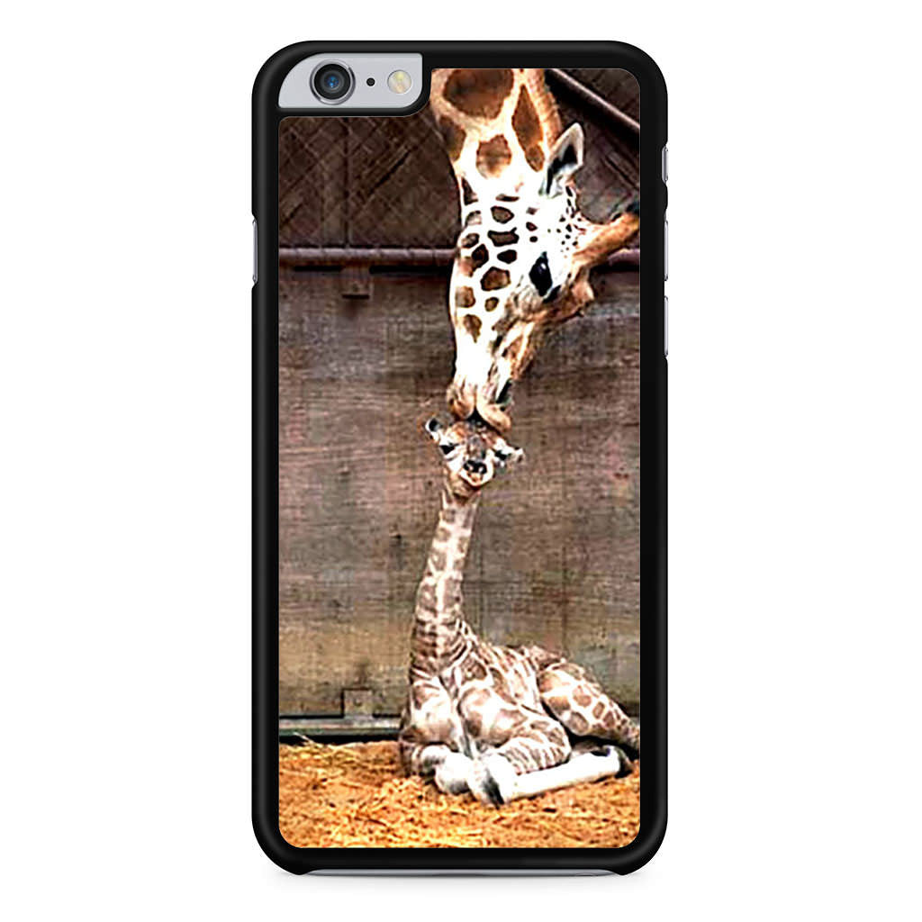 Cute Baby Giraffe Kiss iPhone 6 Plus 6s Plus case