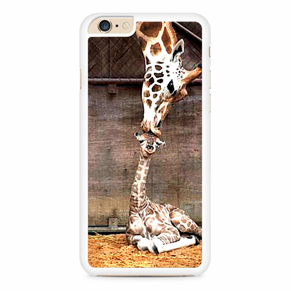Cute Baby Giraffe Kiss iPhone 6 Plus / 6s Plus case