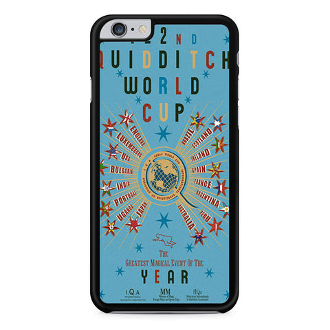 422nd Quidditch World Cup Poster iPhone 6 Plus 6s Plus case