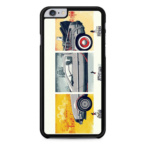 Back To The Future DeLorean DMC 12 iPhone 6 Plus 6s Plus case