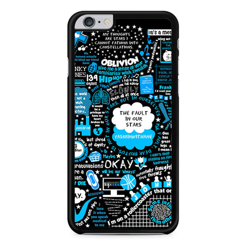 The Fault In Our Stars iPhone 6 Plus 6s Plus case