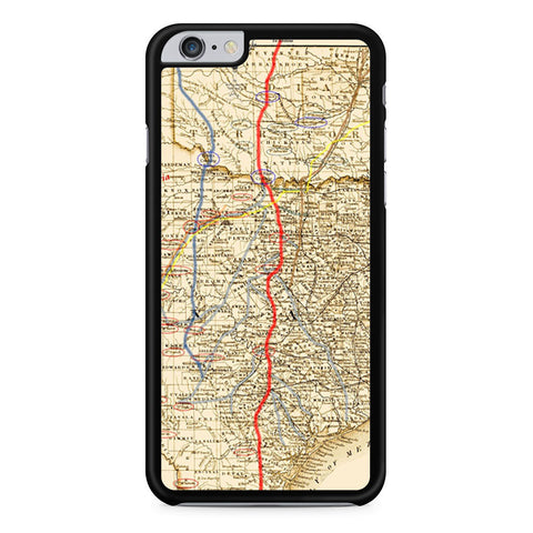 Texas and Indian Territory iPhone 6 Plus 6s Plus case
