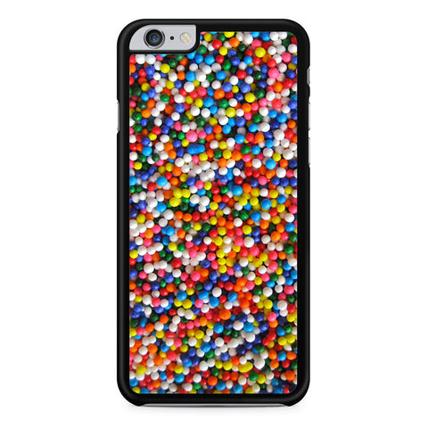 Rainbow Candy Sprinkles iPhone 6 Plus 6s Plus case