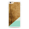Wood Teal Geometric iPhone 6 Plus | 6s Plus case