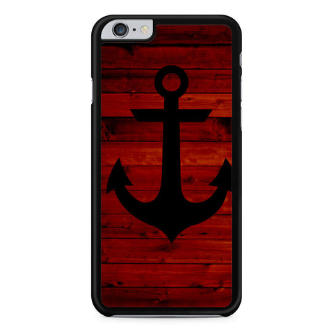 Wood and Anchor iPhone 6 Plus 6s Plus case