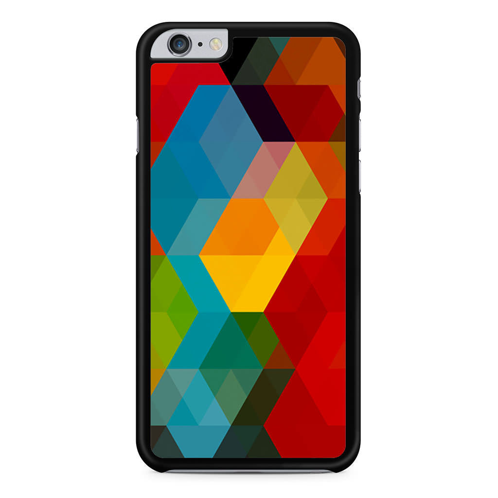 Abstract Polygonal Rainbow iPhone 6 Plus 6s Plus case