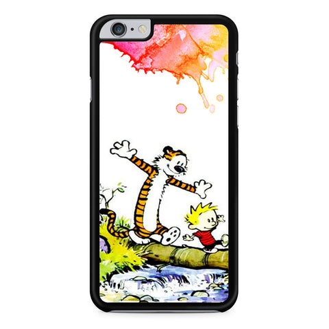 Calvin and Hobbes Watercolor iPhone 6 Plus 6s Plus case