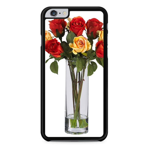 Vase Rose Flower iPhone 6 Plus 6s Plus case