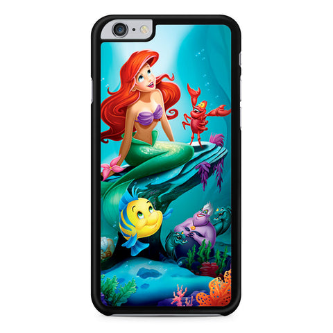 Ariel The Little Mermaid and Friends iPhone 6 Plus 6s Plus case