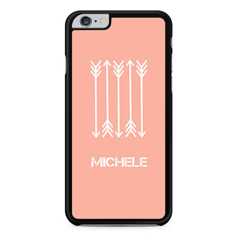 Coral and Arrows iPhone 6 Plus 6s Plus case