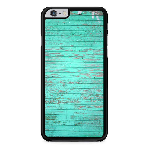 Teal Wood iPhone 6 Plus 6s Plus case