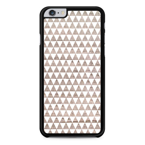 Wooden Triangle Geometric Pattern iPhone 6 Plus 6s Plus case