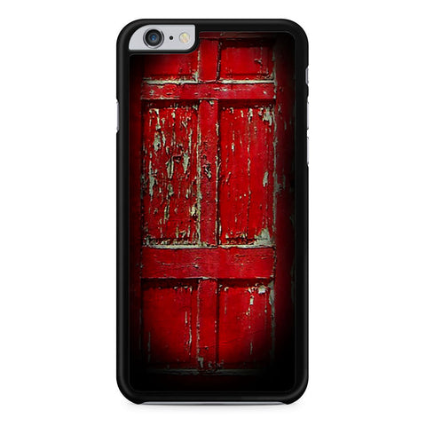 Red Door Cross iPhone 6 Plus 6s Plus case