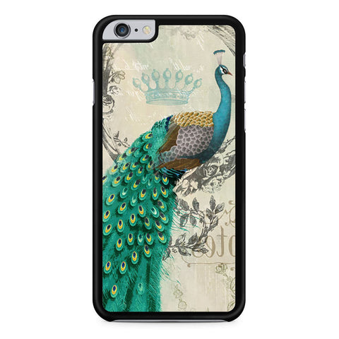 Peacock Art iPhone 6 Plus 6s Plus case