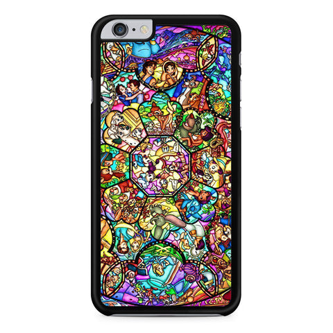 All Disney Heroes Stained Glass iPhone 6 Plus 6s Plus case