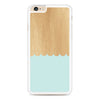Mint Blue Wood Pattern iPhone 6 Plus | 6s Plus case