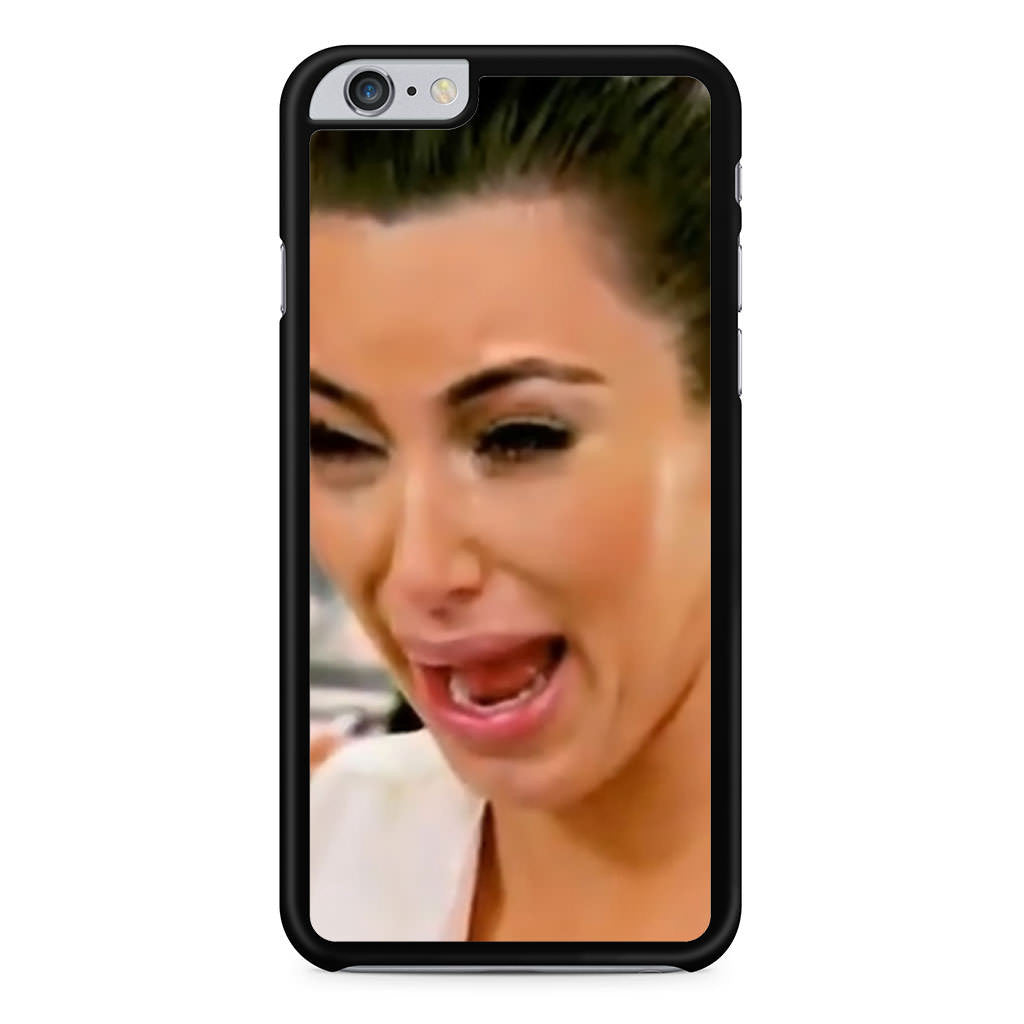 Kim Kardashian Cry Ugly Face iPhone 6 Plus 6s Plus case