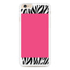 Zebra Pattern on Hot Pink iPhone 6 Plus | 6s Plus case