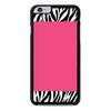 Zebra Pattern on Hot Pink iPhone 6 Plus 6s Plus case